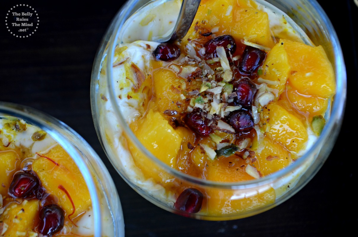 instant honey shrikhanf with mango