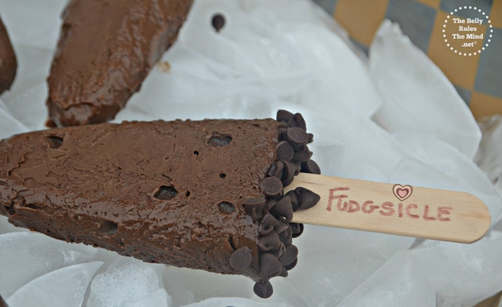 Healthy  Fudgesicles.