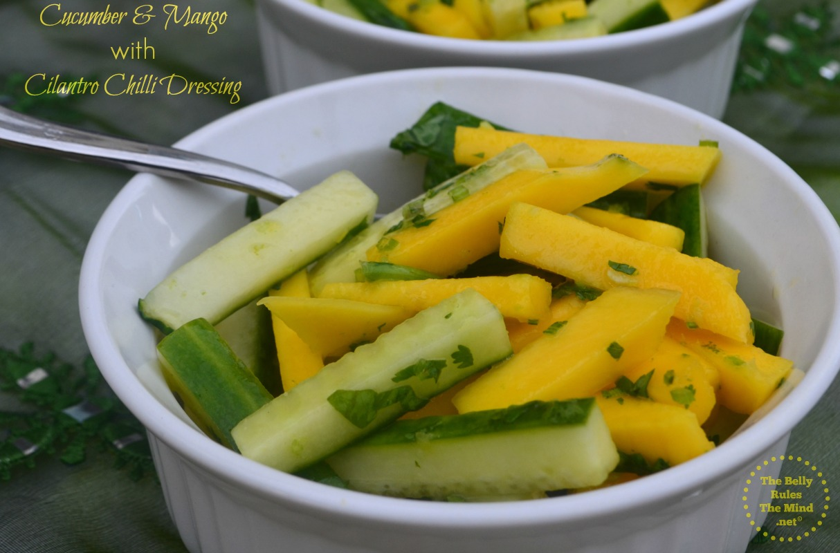 cucumber and mango salad