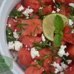 Watermelon Summer salad