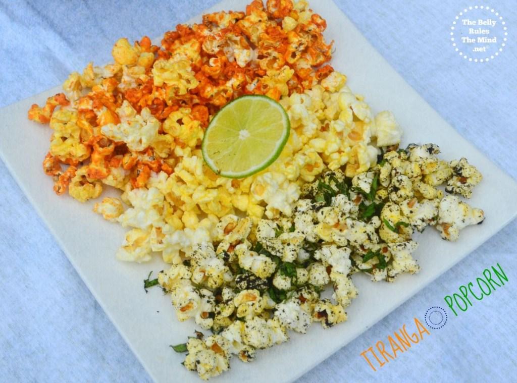 Tiranga Popcorn (Sriracha -Mint & lime)