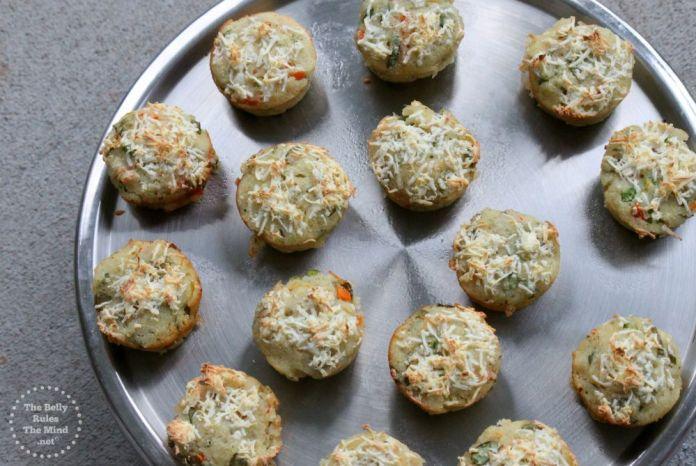 suji veggie muffin