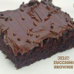 Chocolatey Zucchini Brownies