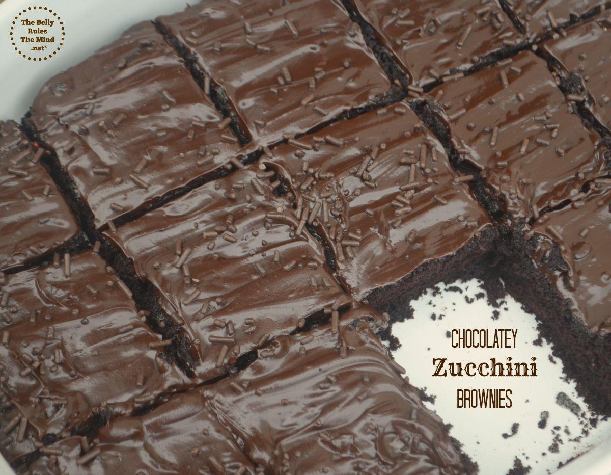 chocolately zucchini browmie