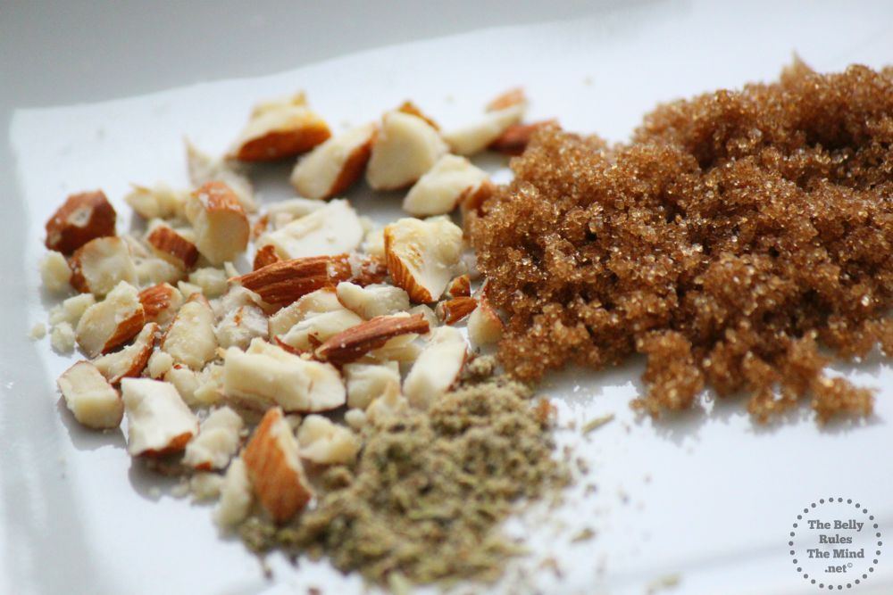 dry ingredients for phirni