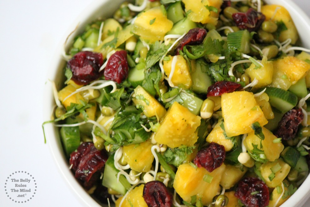 pineapple mung salad