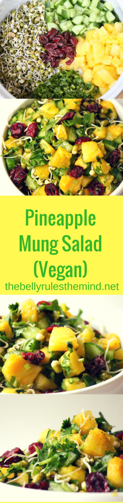 Pineapple Mung Salad Pin