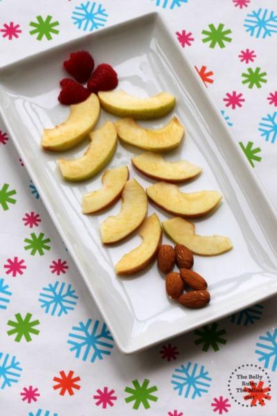 Apple Christmas Tree Breakfast