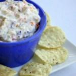 Creamy Crunchy Vegetable Chip Dip