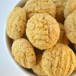 Whole Wheat Custard Cookies