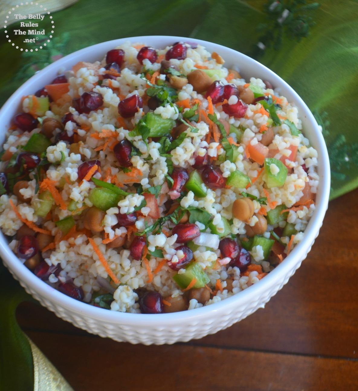 Bulgar Wheat /Daliya Salad