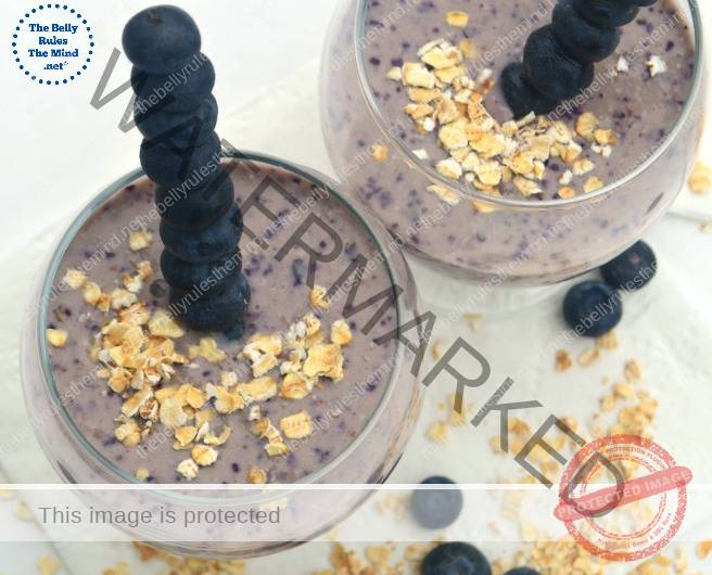 Blueberry &Banana Smoothie