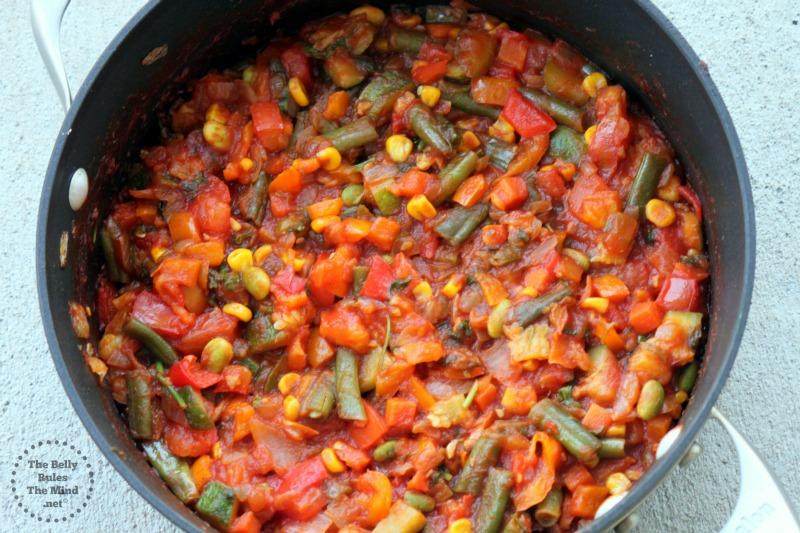 Sauteed mix veg