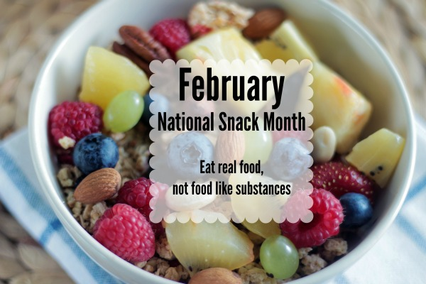This February, let's eat real food.