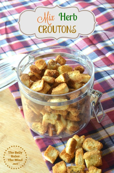 Mix- Herb Croutons