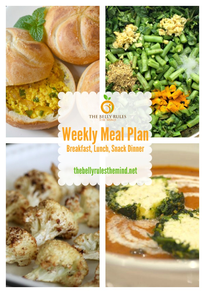 Weekly Meal Plan for Mar 14 to Mar 20