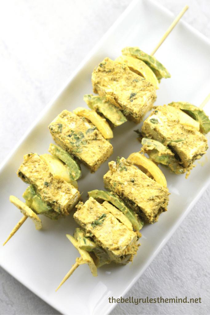 Tofu Paneer Tikka