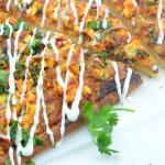 Quick & Easy Paneer Tikka Pizza
