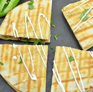 samosa-quesadilla