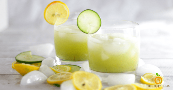 Cucumber Basil Lemonade using Dorot