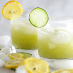 Cucumber Basil Lemonade using Dorot