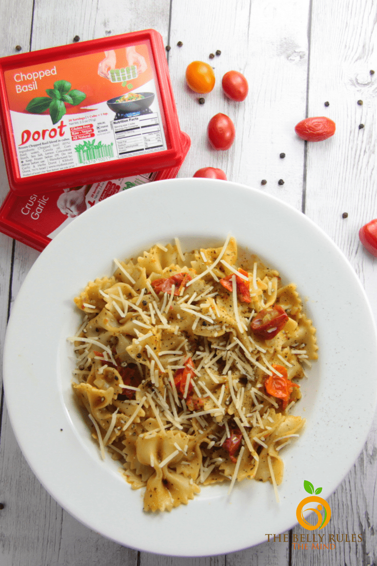 Easiest ever one pot summer pasta