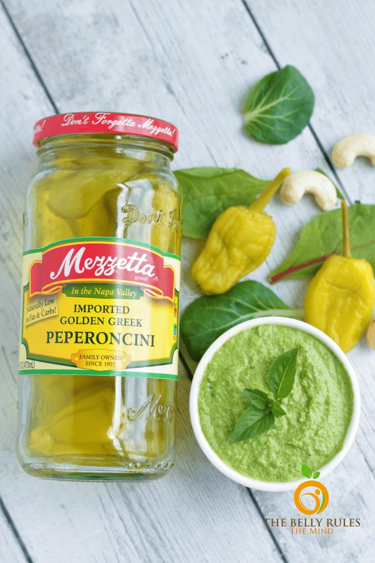 Mezetta Peperoncini, Green Chutney
