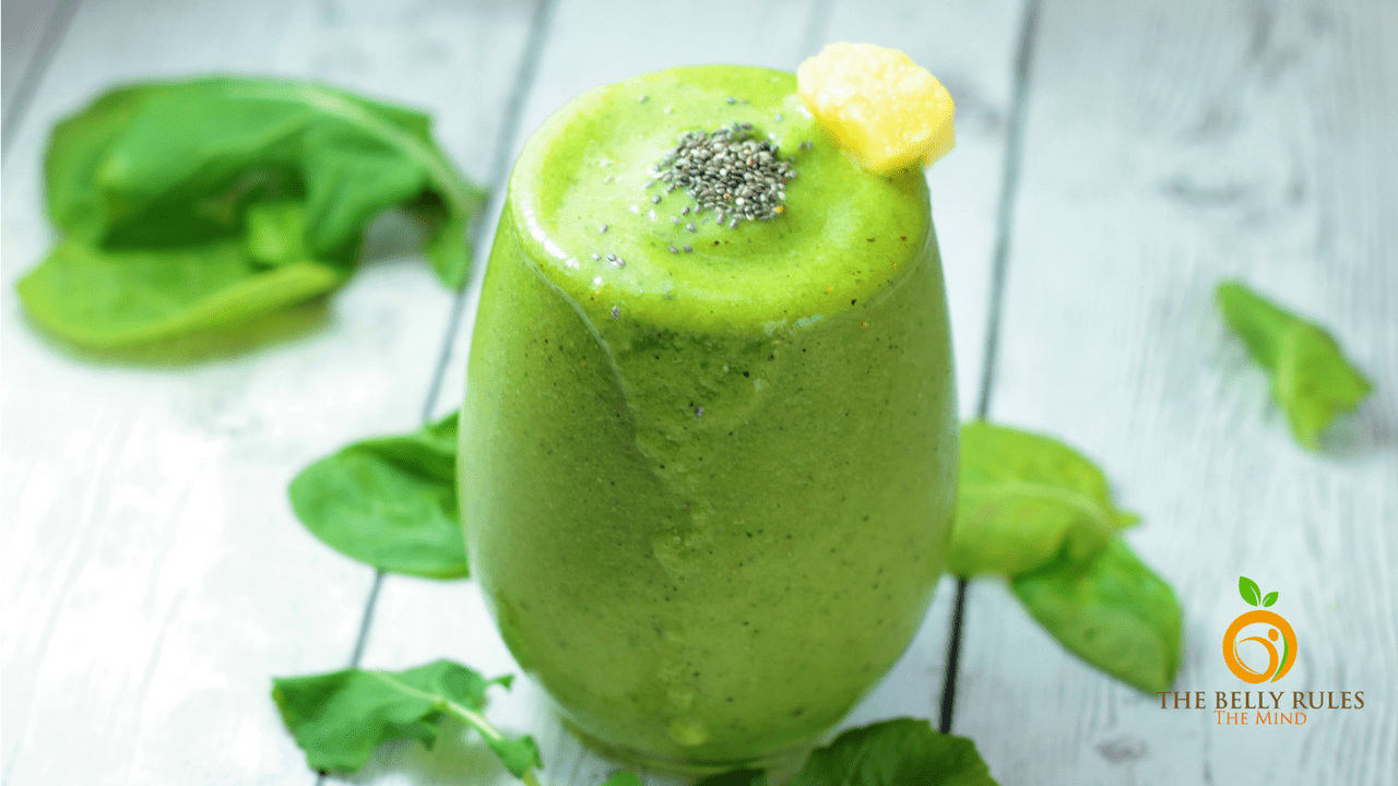 Tropical Green Smoothie (V +GF)
