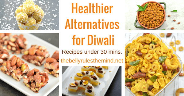 Healthier Alternatives for Diwali