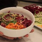Spiralized Thai Salad with Ninja® Intelli-Sense™ Kitchen System with Auto-Spiralizer™