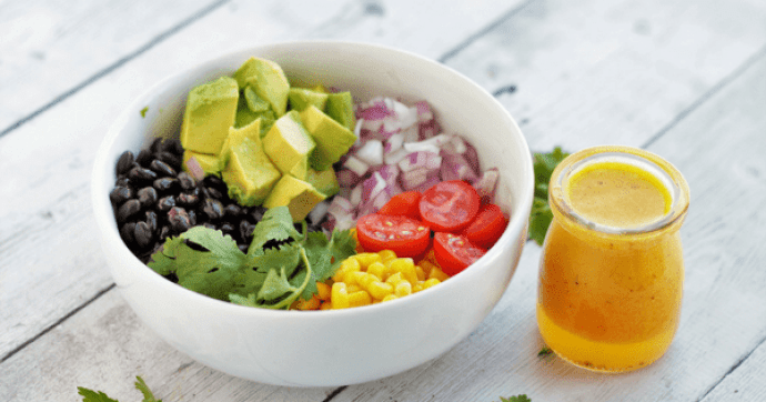 You are going to love this Black Bean Corn Salad recipe with Pichuberry Dressing. It's quick & easy and can be enjoyed as is, or serve it as a party appetizer or even makes a perfect lunch or dinner option. Vegan. Gluten-Free.|https://www.thebellyrulesthemind.net