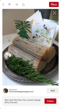 This, that i found on pintrest, liked the book too much, so went to the markets looking for another book,