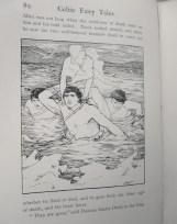John D Batten illustration to Deirdre and the Sons of Uisneach (tragic Irish love story) 1892