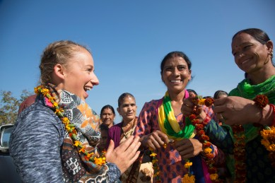 India, Sam Gash pre trip