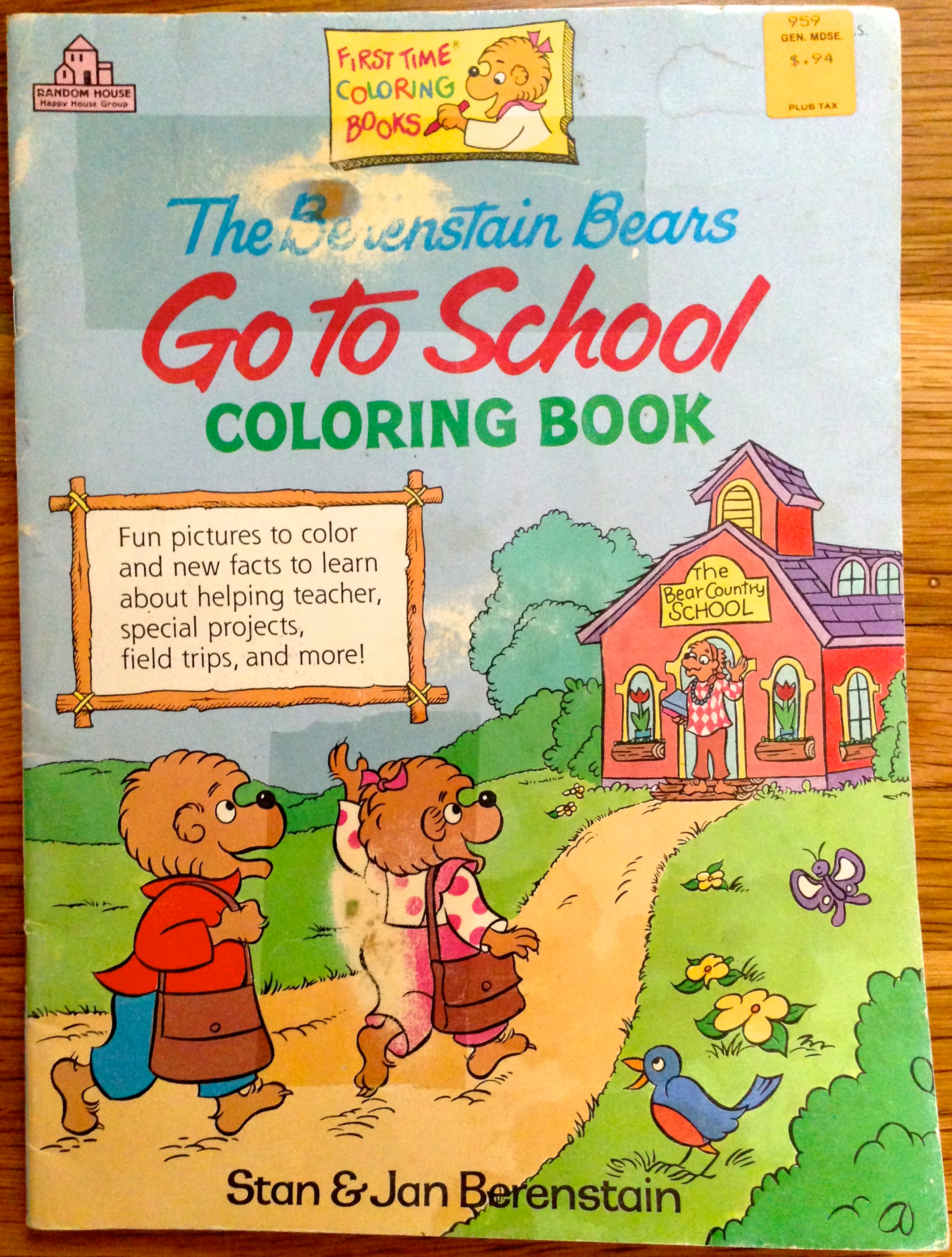 Berenstain Bears Complete Bibliography