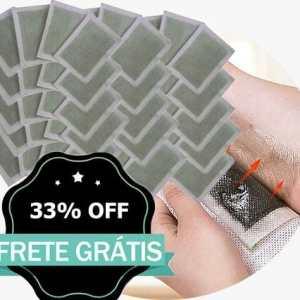 DetoxFeet® - Adesivos De Desintoxicação -40 Pacths (40Adesivos + 40 Saches) - The Best Acessórios