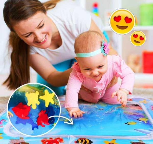 Water Mat - Tapete Inflável Para Bebês - The Best Acessórios