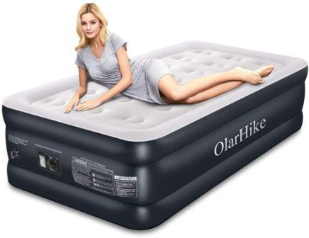 twin air mattress with built in pump