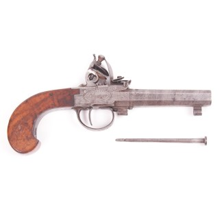 Antique English Flintlock Pistol