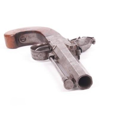 Antique English Flintlock Pistol