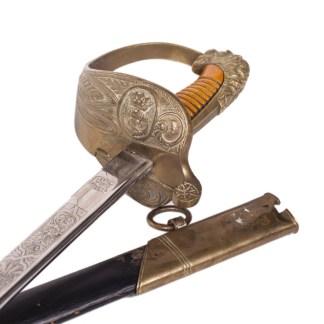 M-1857 Spanish Naval officer's sword
