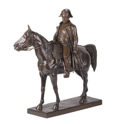 Napoleon Bonaparte on Horseback by Louis Marie Morise