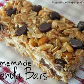 No-Bake Homemade Granola Bars