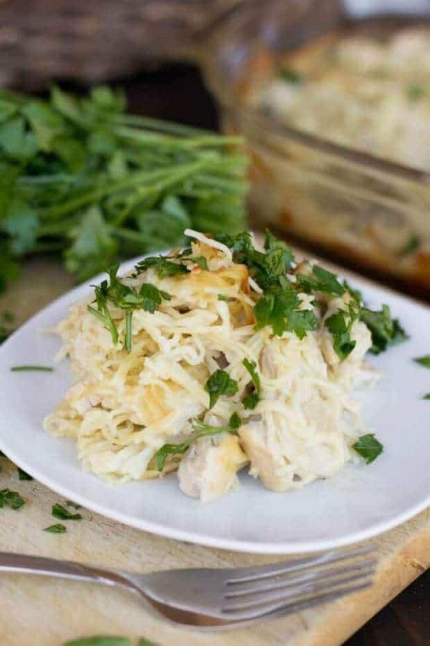 chicken-tetrazzini-casserole