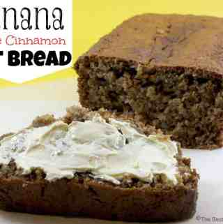 Banana Apple Cinnamon Oat Bread