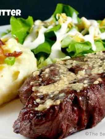 Grilled Garlic Butter Steak