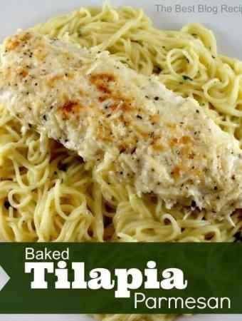 Baked Tilapia Parmesan