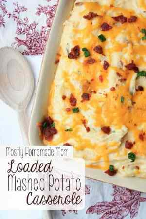 Loaded Mashed Potato Casserole 1
