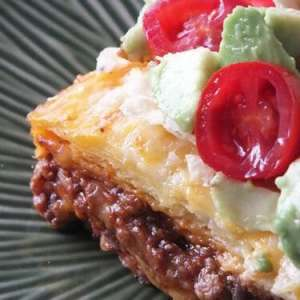 Texas Style Lasagna from {The Best Blog Recipes}