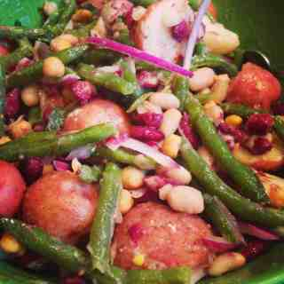 Potato and 4 Bean Salad